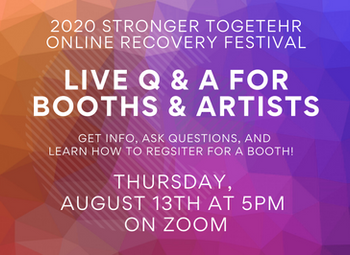 Live Q & A for Booth Registration