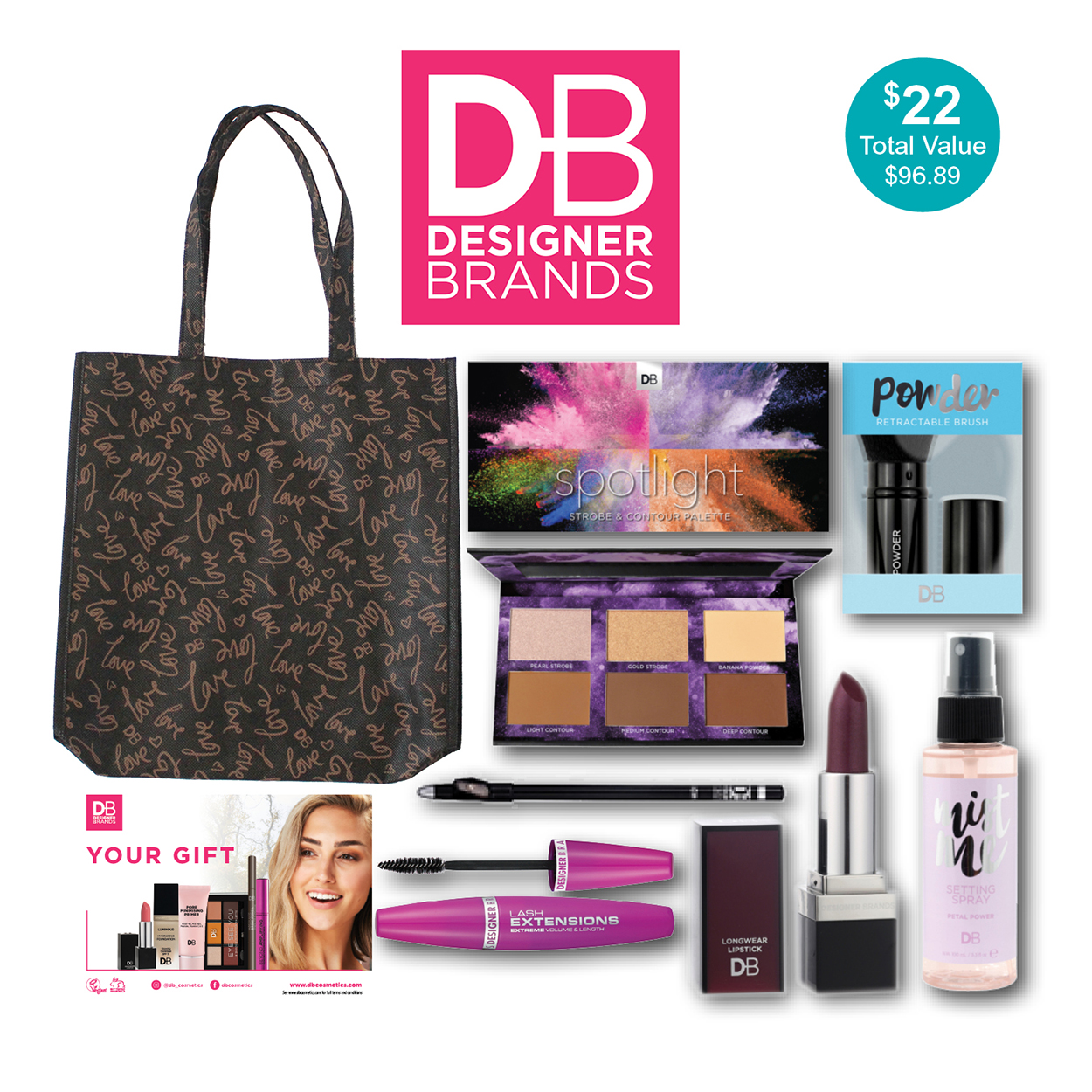 Designer Brands Showbag