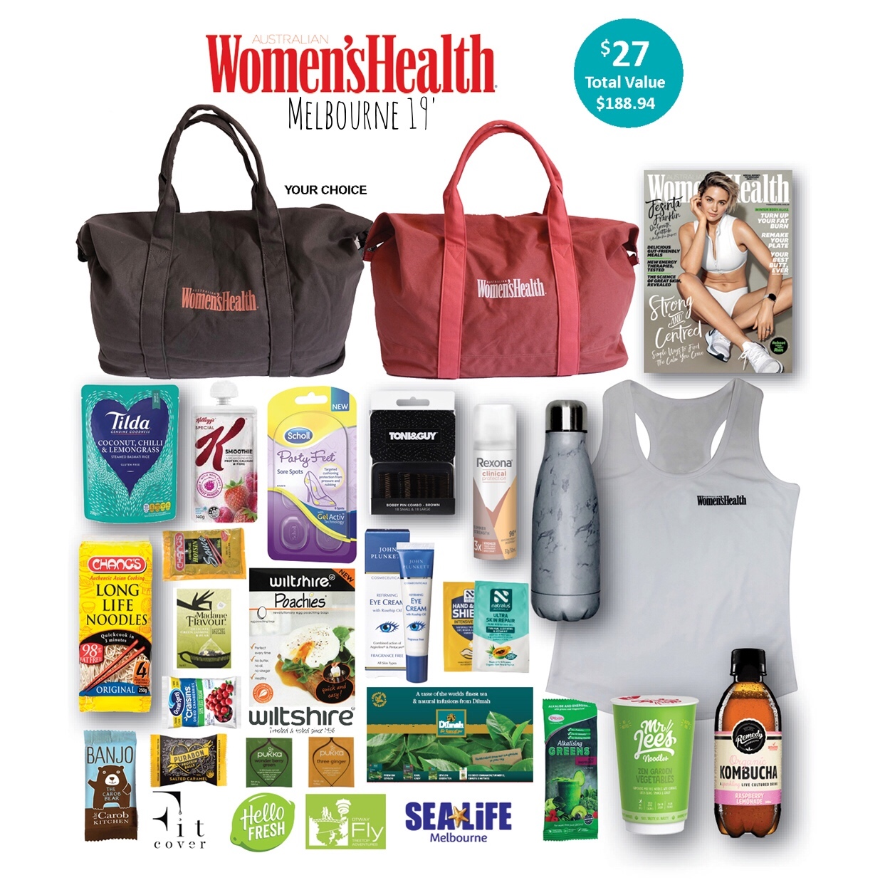 Women's Health - Melbourne 19'