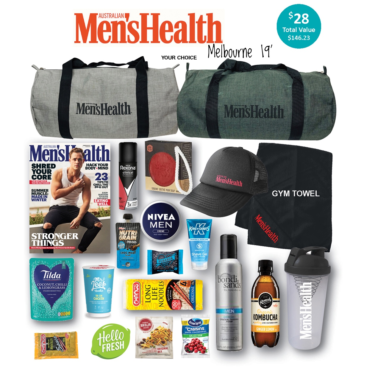 Men's Health - Melbourne 19'