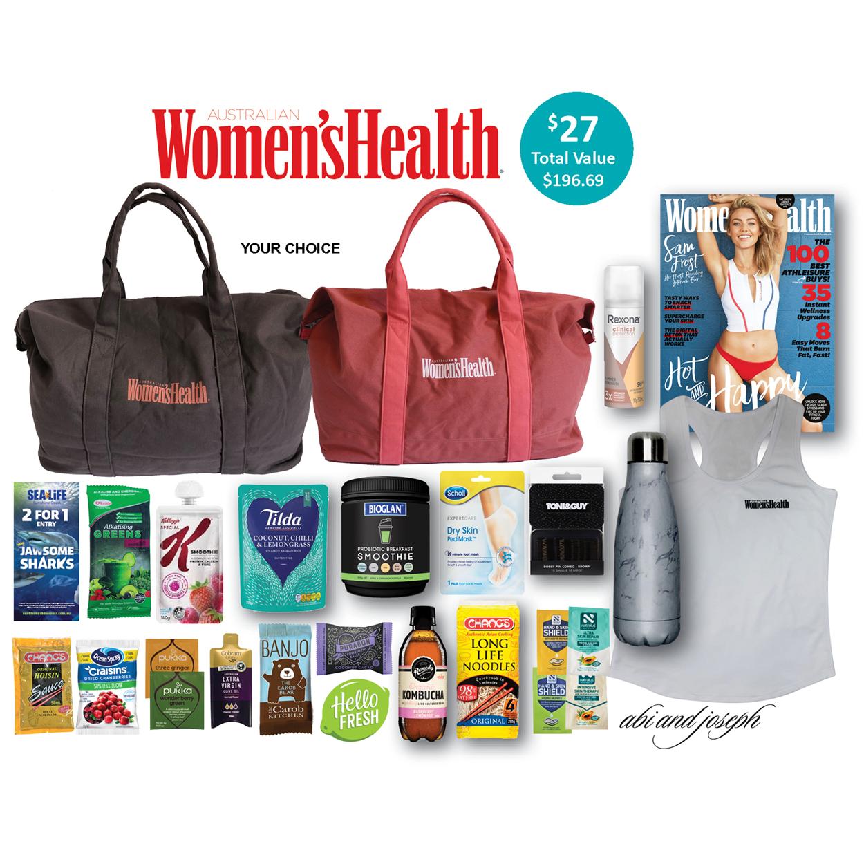 Women's Health Showbag - Brisbane 2019