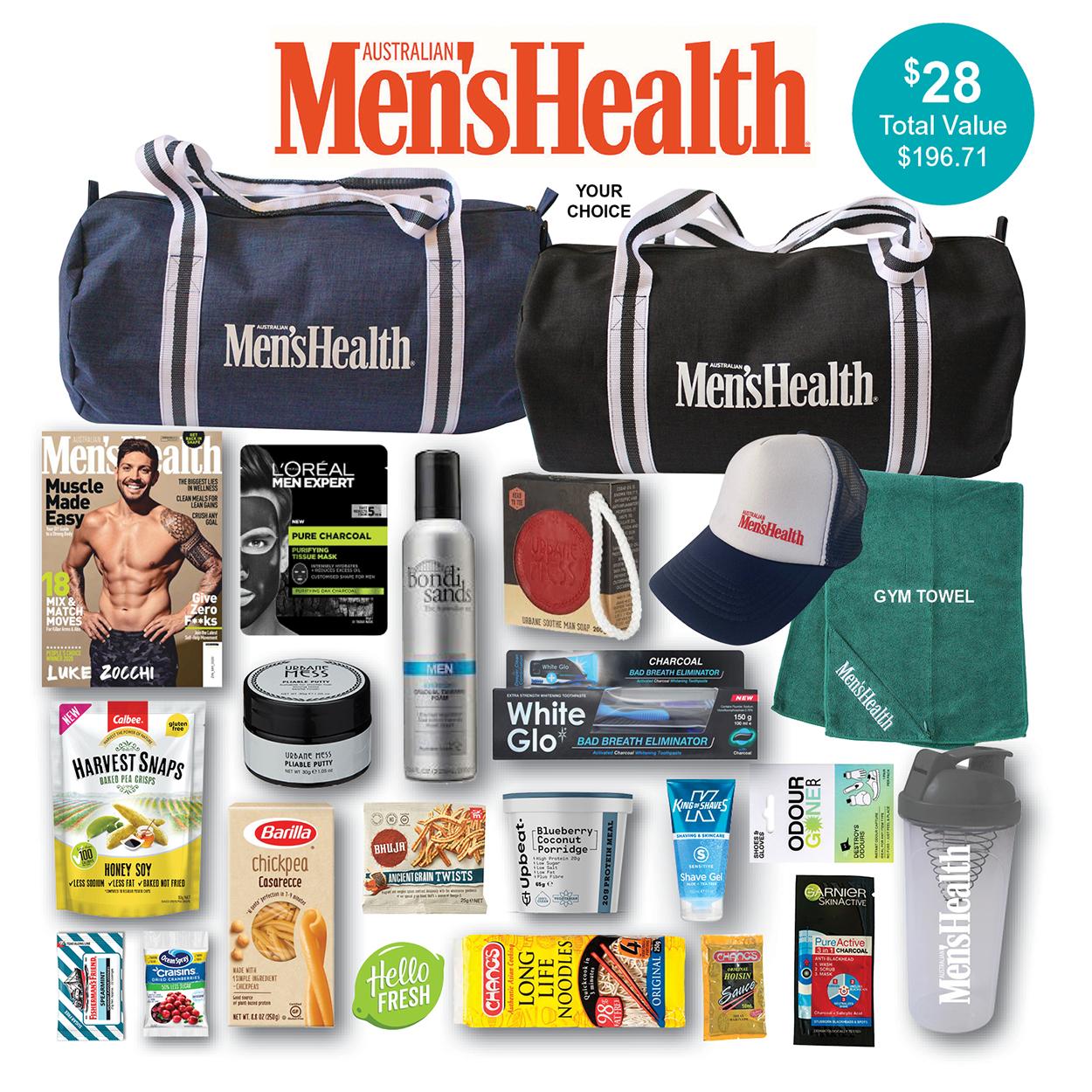 Men's Health Showbag