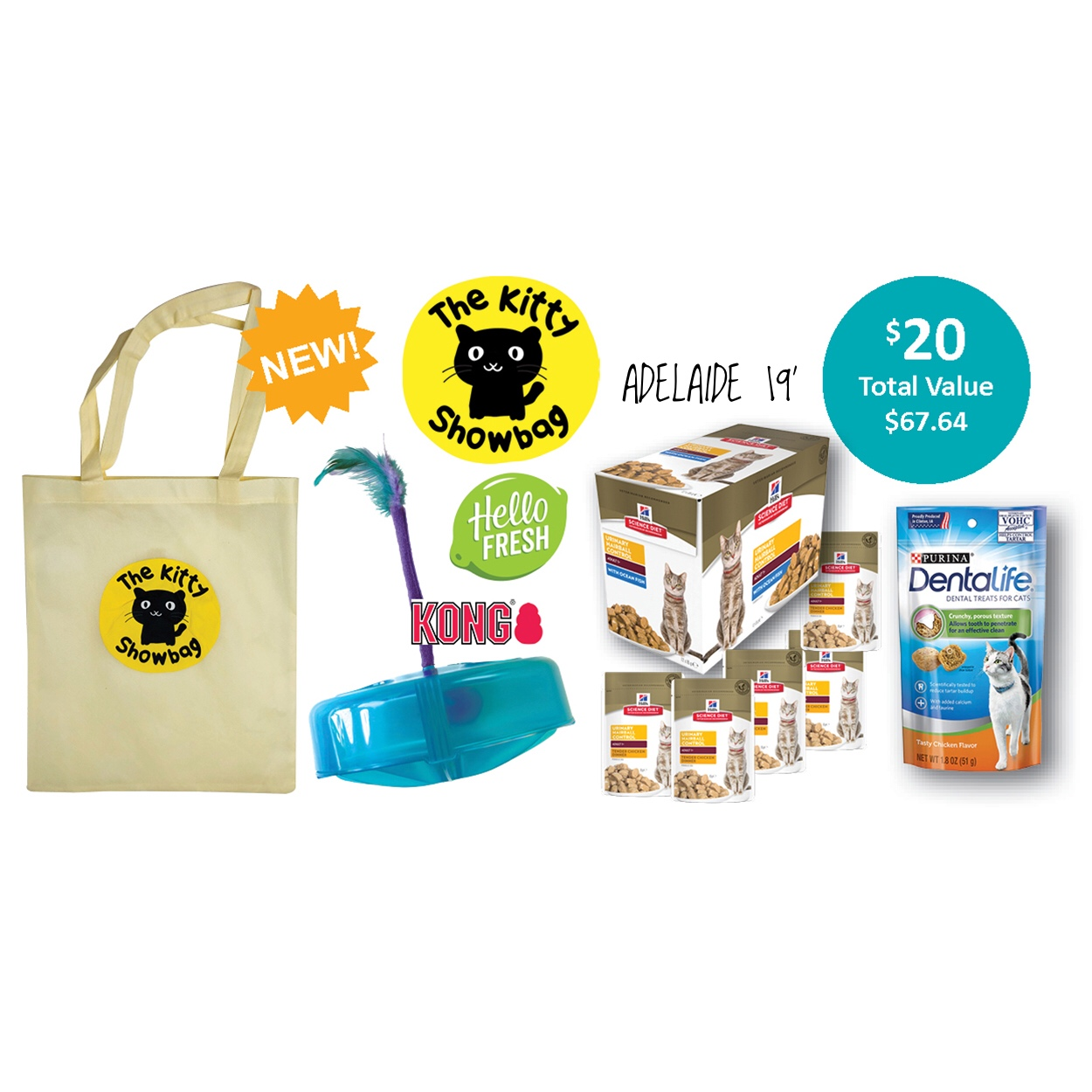 The Kitty Showbag - Adelaide 19'