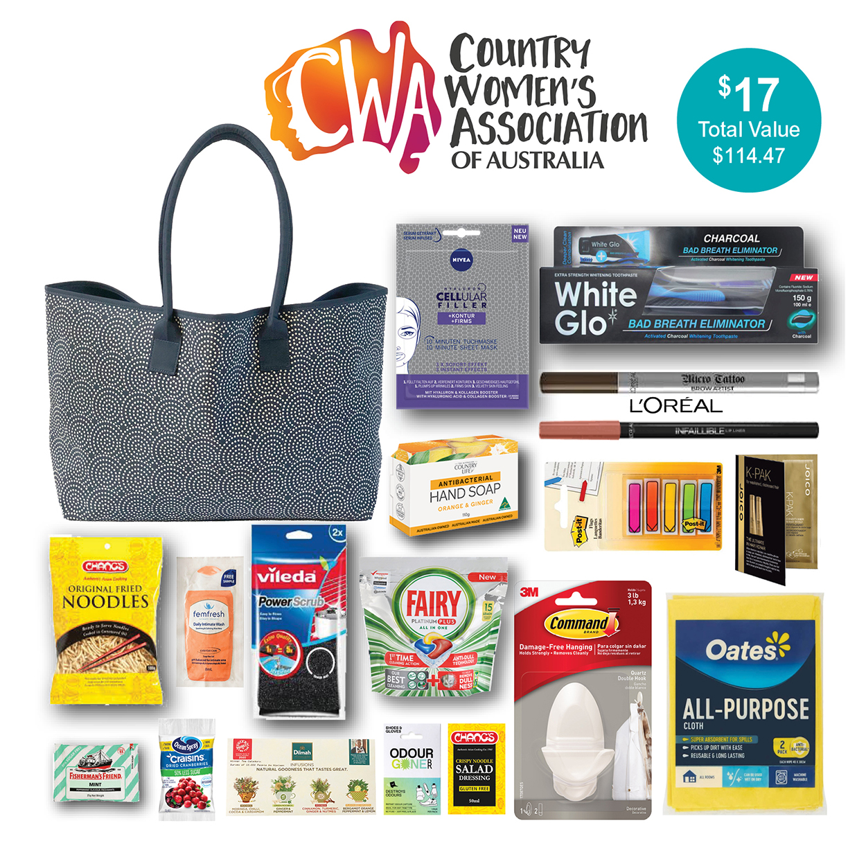 Country Women's Association of Australia Showbag