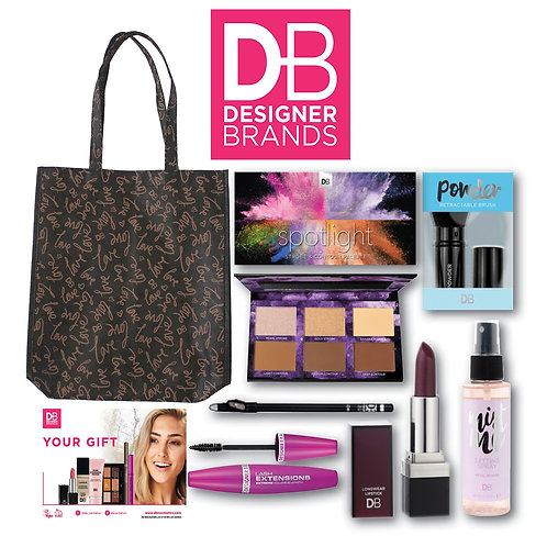 Designer Brands Cosmetic Showbag