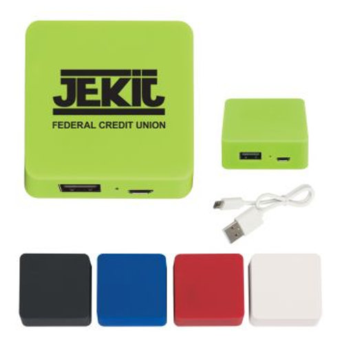 Powerbank with Rubber Finish 2000mAh