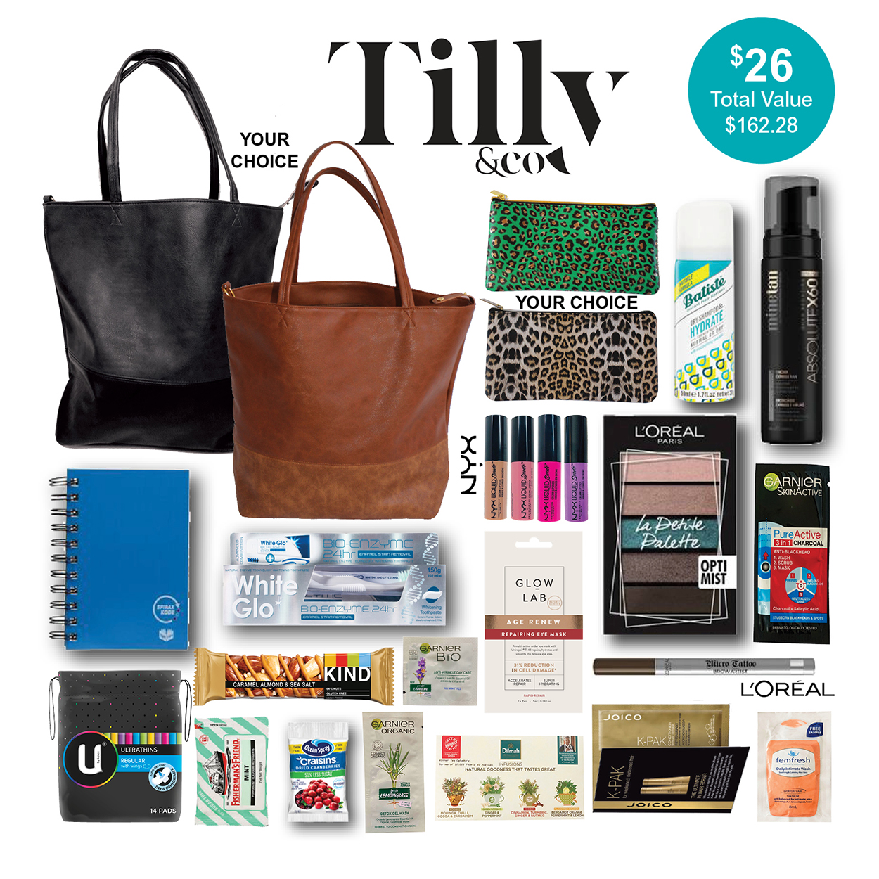 Tilly & Co. Showbag