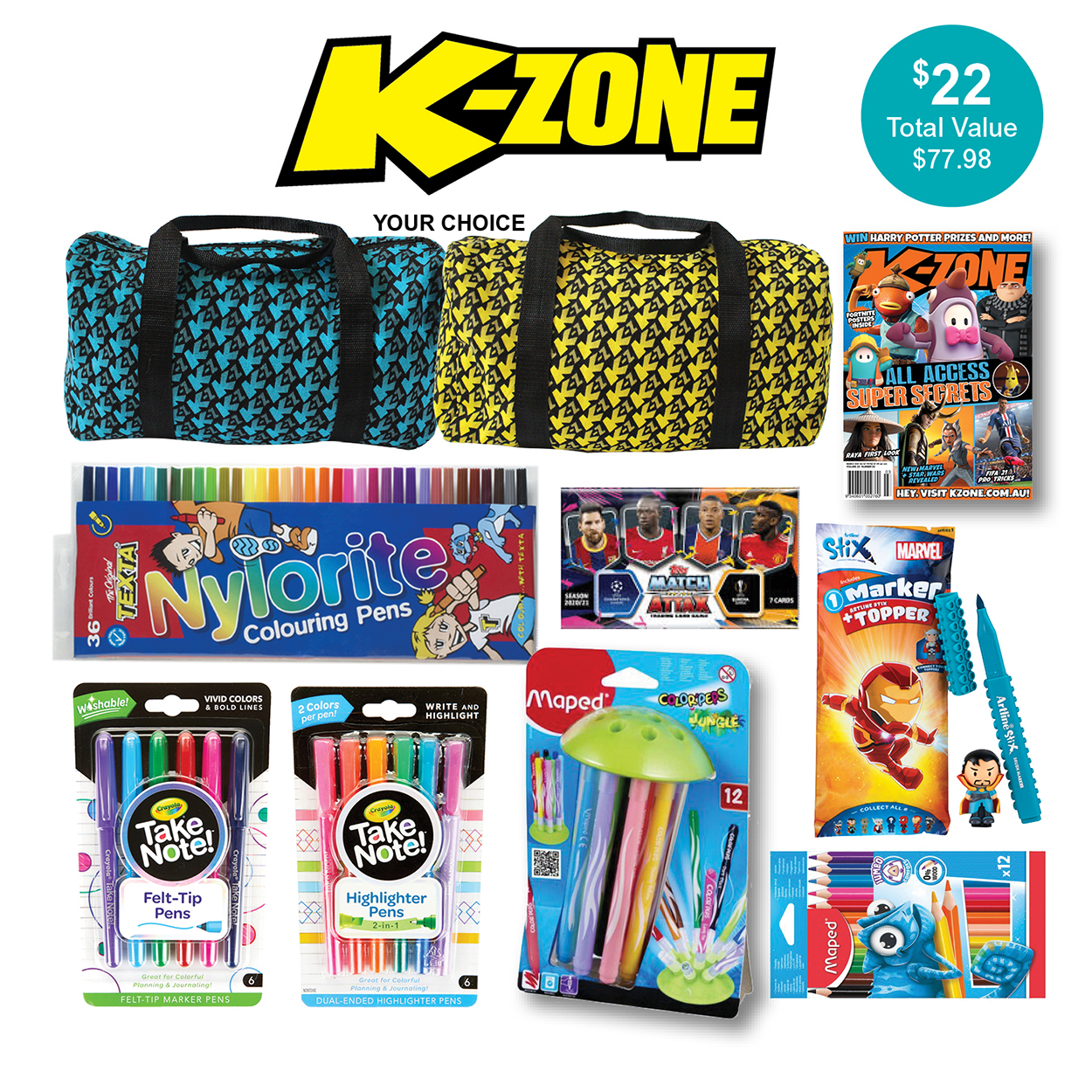 K-Zone Magazine Showbag