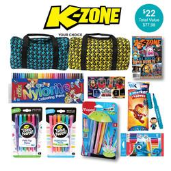 K-Zone Magazine Showbag