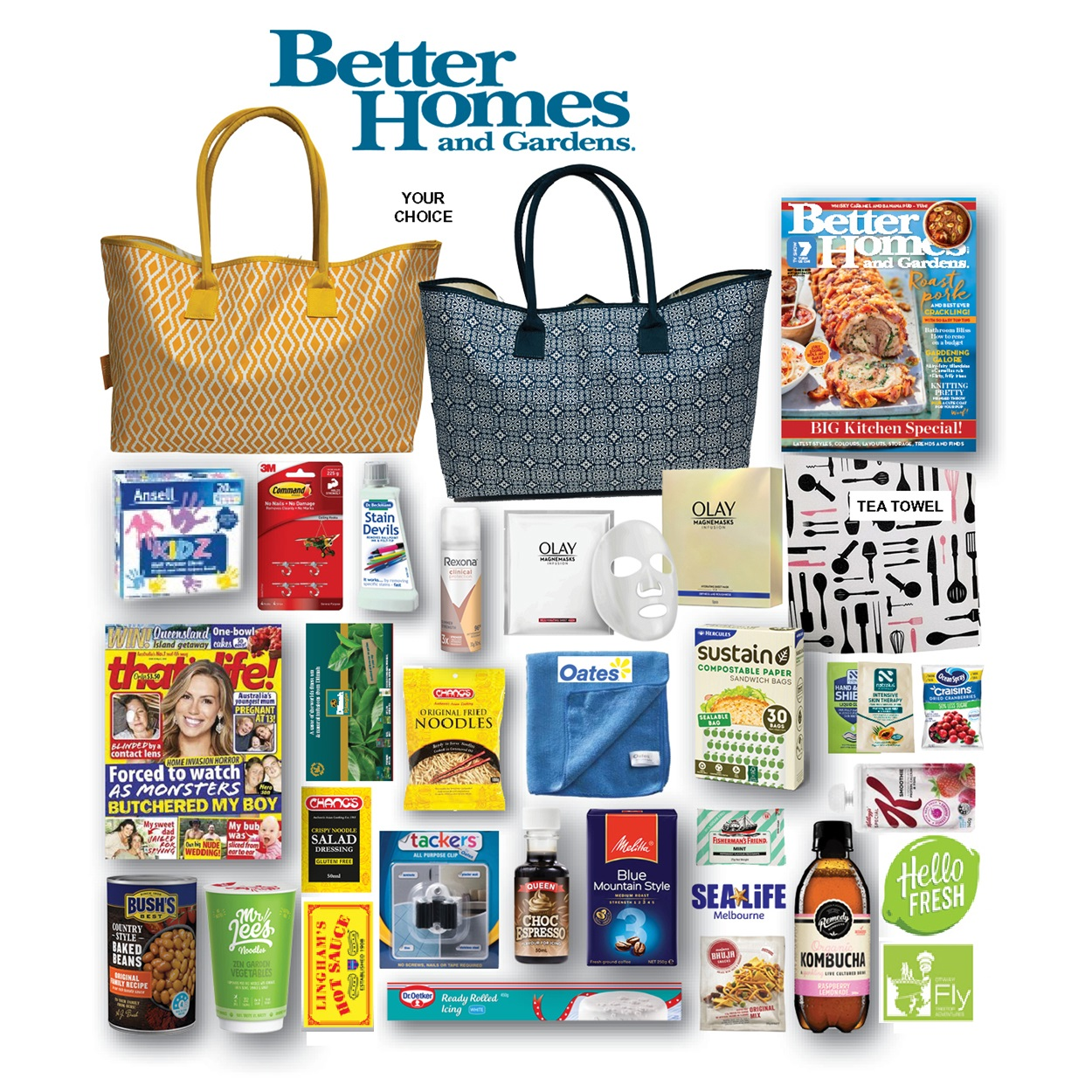 Better Homes & Garden Showbag