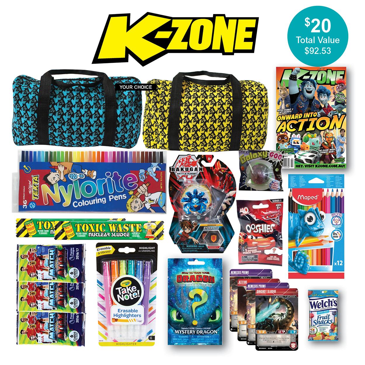 K-Zone Showbag