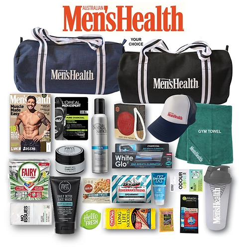 Men's Health Showbag