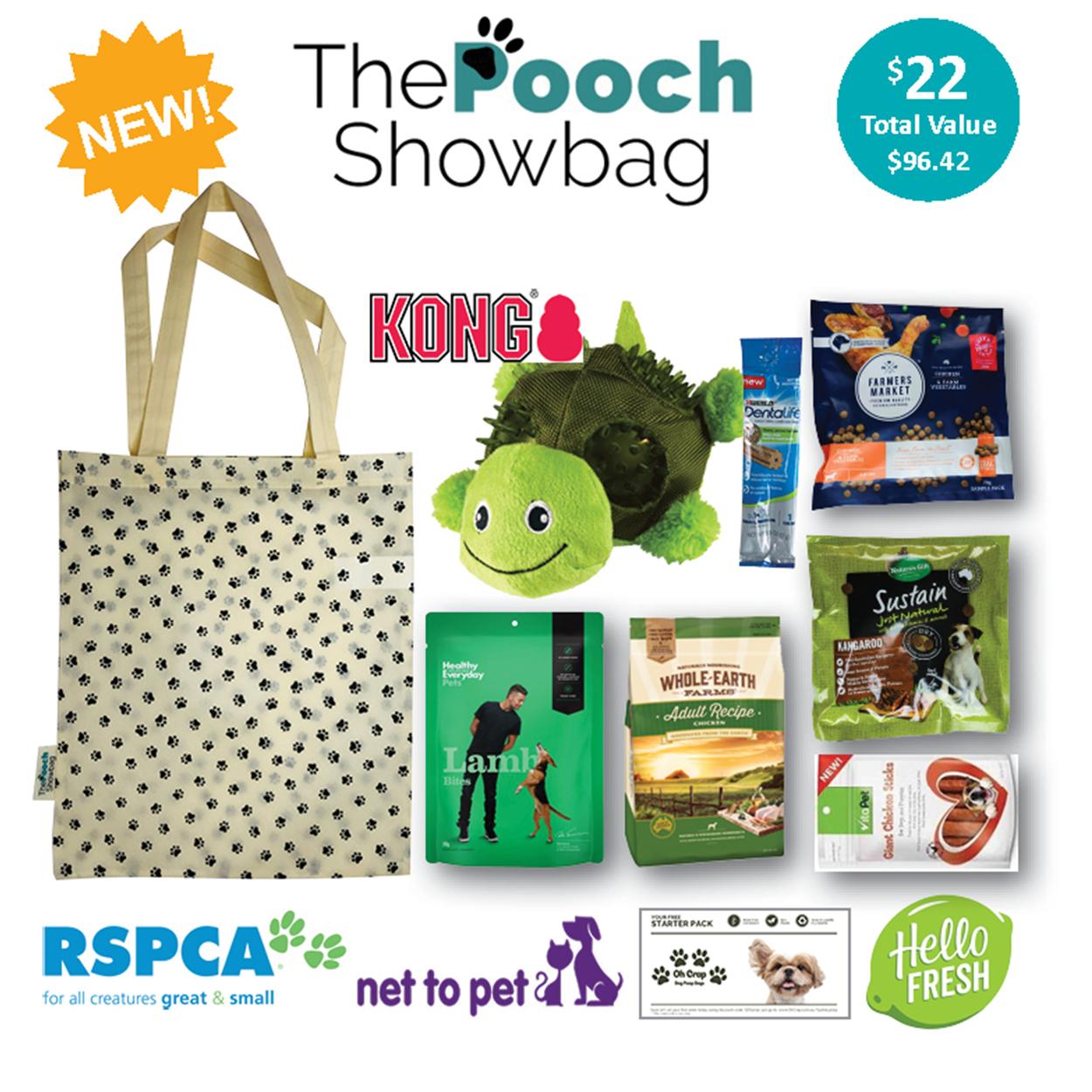 The Pooch Showbag - Brisbane 2019