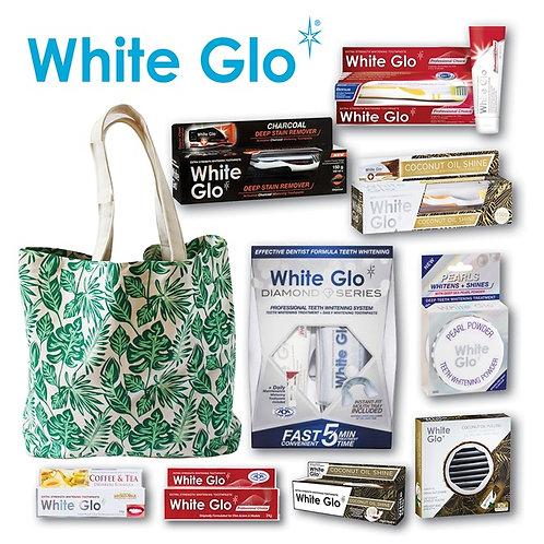 White Glo Toothpaste Showbag
