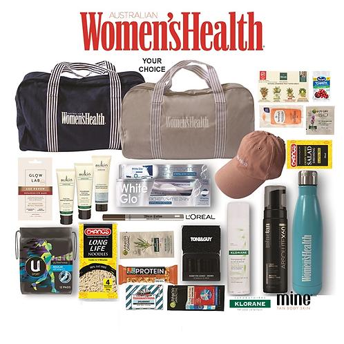 Women's Health Showbag