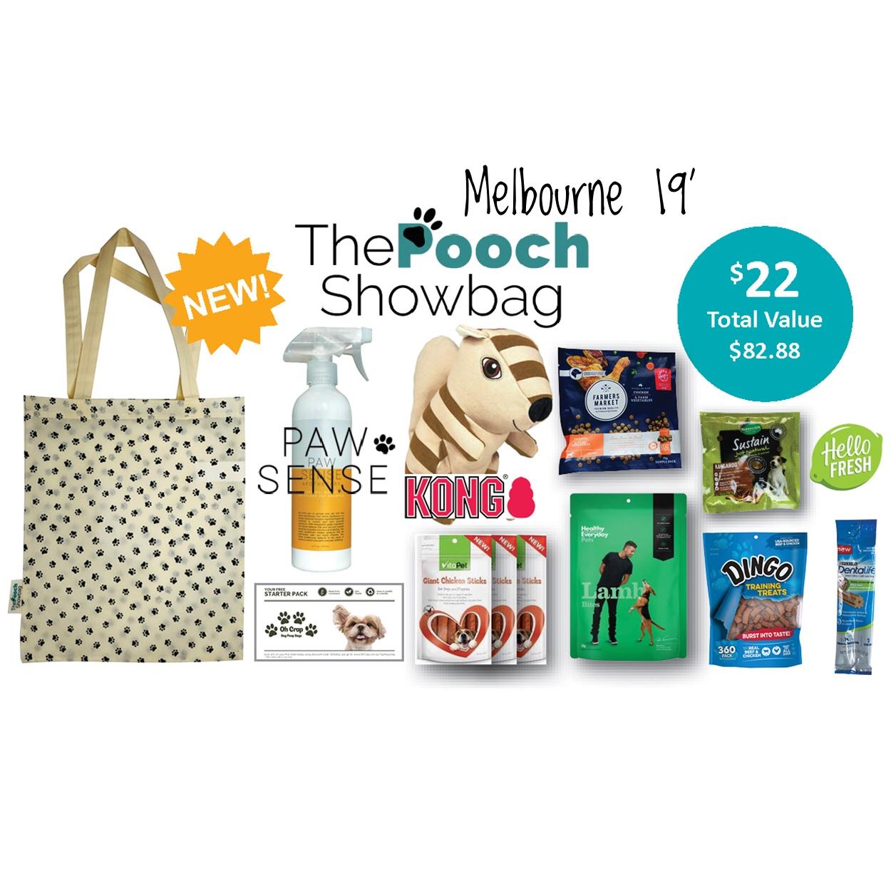 The Pooch Showbag - Melbourne 19'