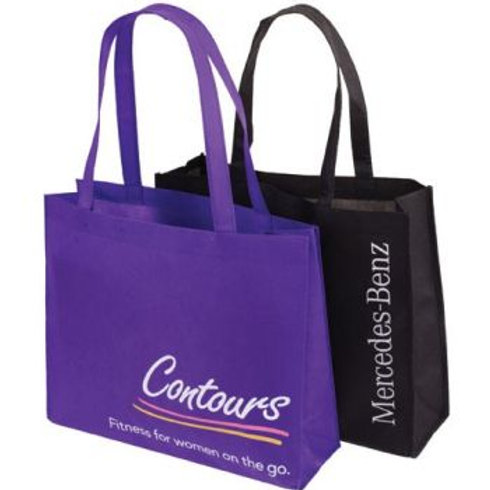 Non-Woven Horizontal Bag with gusset