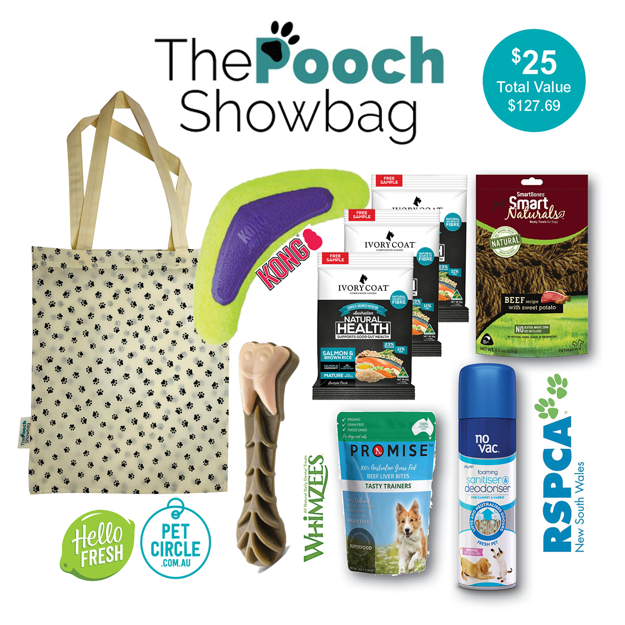 The Pooch Showbags