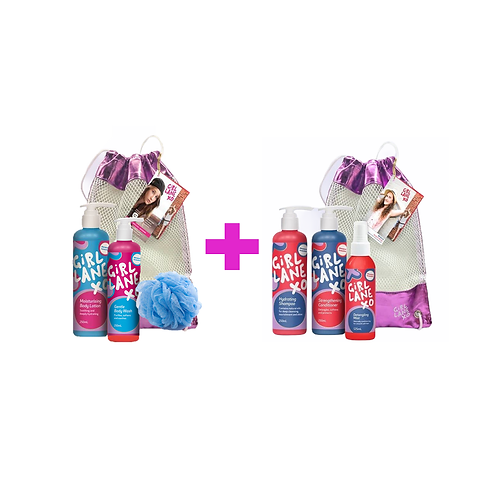 Girl Lane BUNDLE PACK - Body Care + Hair Care Pack