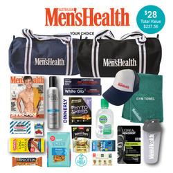 Men's Health Magazine Showbag