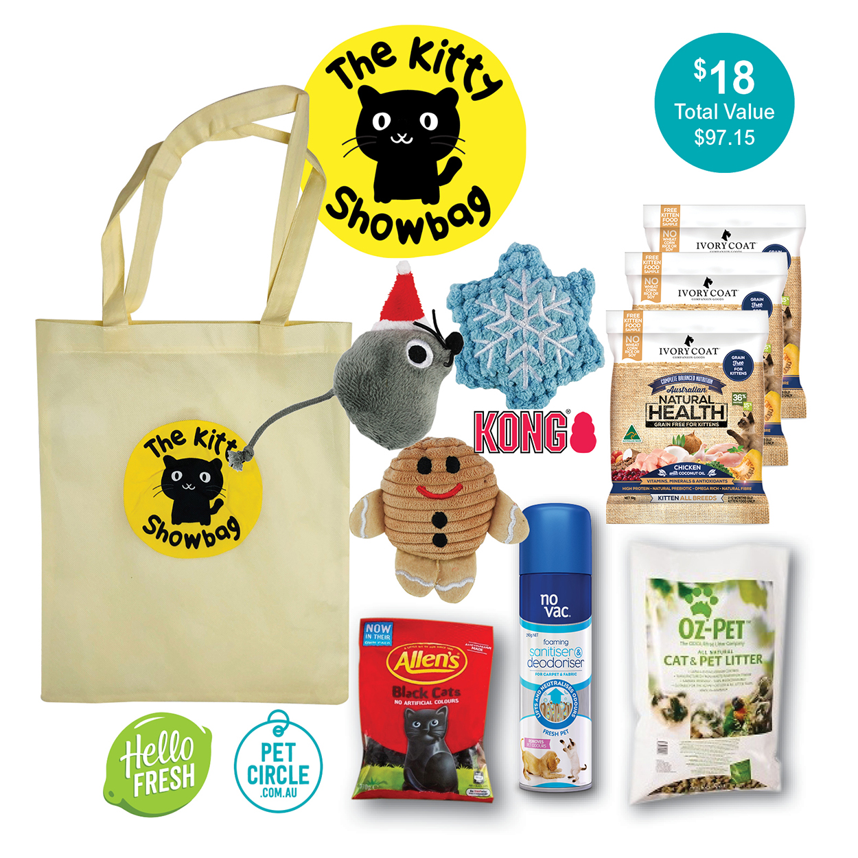 The Kitty Showbag