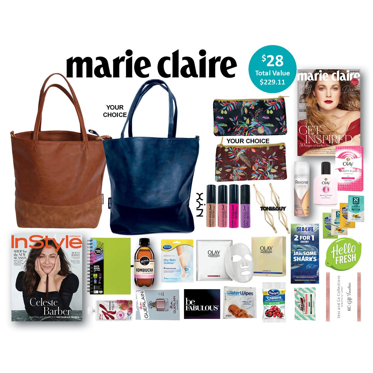 Marie Claire Showbag - Brisbane 2019