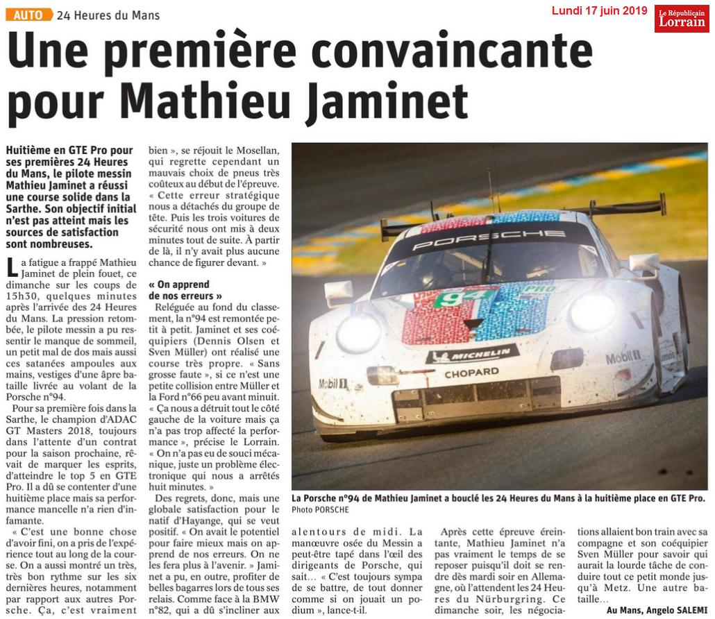 MATHIEU LE MANS 1