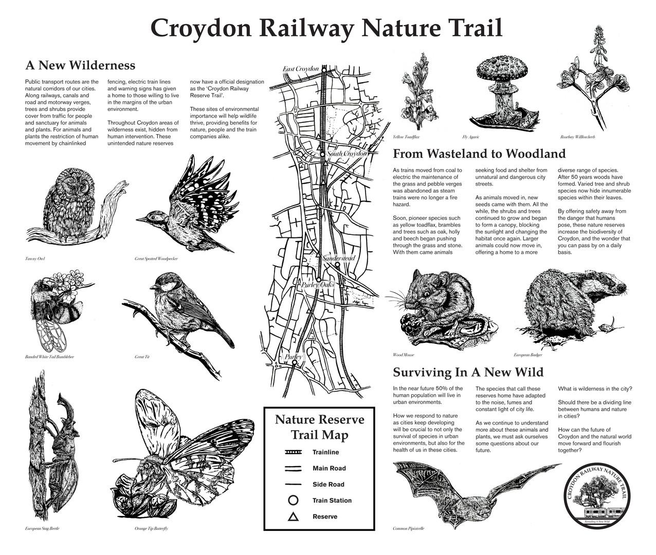 Croydon Railway Nature Trail