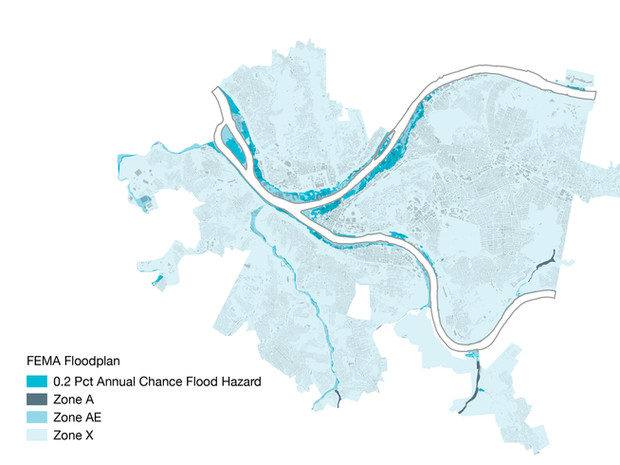 Pittsburgh Riverfront Zoning Research
