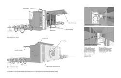 Mobile bike storage modules