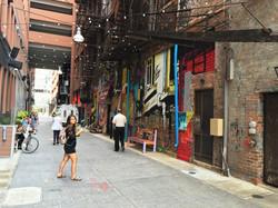 Belt Alley in Downtown Detroit