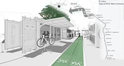 Mobile bike modules