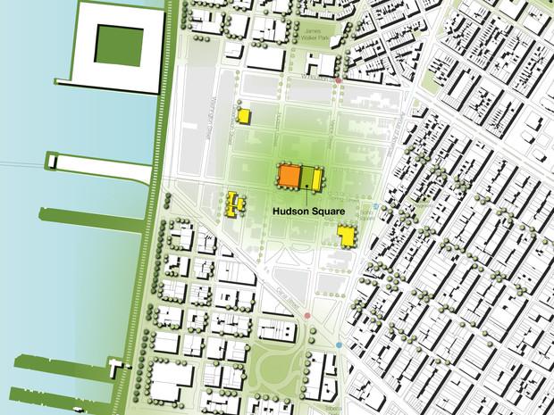 Hudson Square Masterplanning
