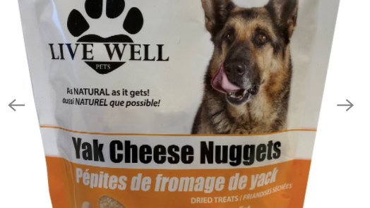 Live Well - Yak Cheese Nuggets