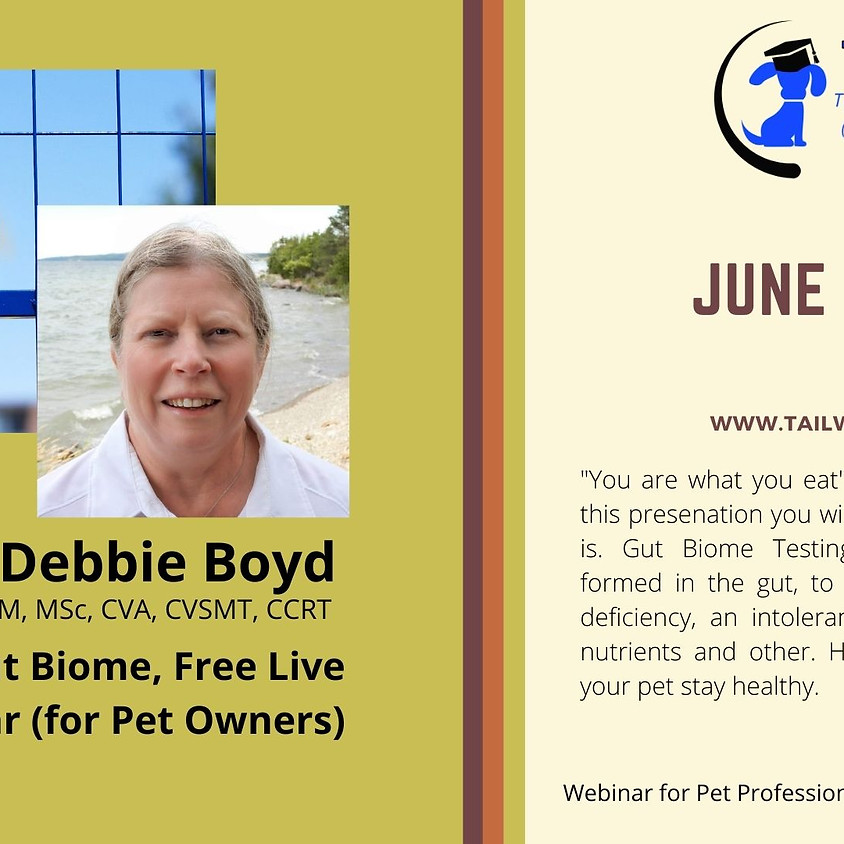 """Free Webinar on """"Animal Gut Biome"""" (for Pet Owners)"""