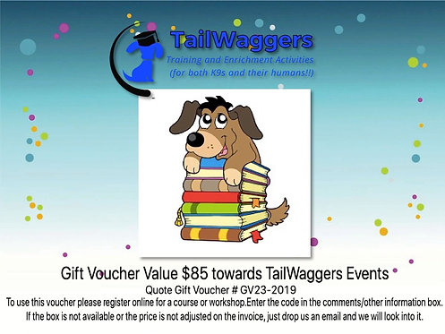 TailWaggersK9Sport Gift Certificate