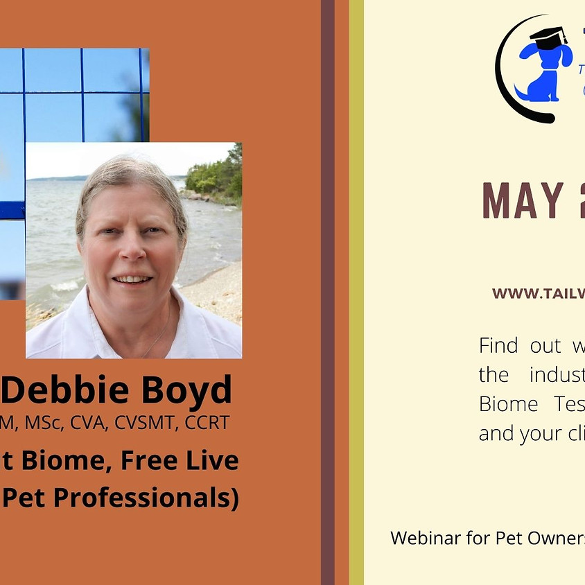 """Free Webinar on """"Animal Gut Biome"""" (for Pet Professionals & Pet Owners)"""