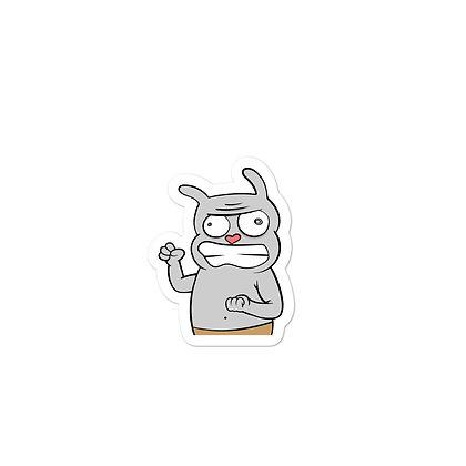 Angry Kip Sticker