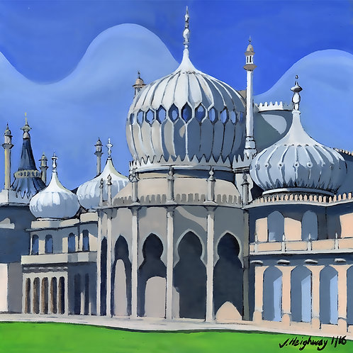 Royal Pavilion Brighton - Original Art by James Heighway