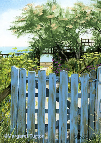 Cottage Garden by the Sea