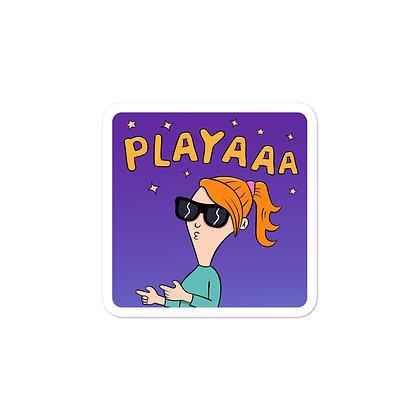 Playaaa Girl Sticker
