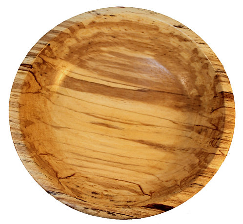 Spalted Beech Wooden Bowl