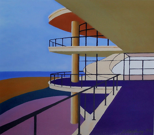 Pavilion Print - Original Art by James Heighway