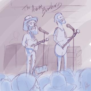 First Avett Brothers Concert.JPG