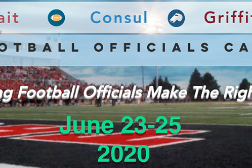 2020 Tait-Consul-Griffith Football Officials Camp Registration