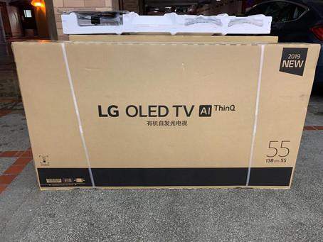 LG OLED B9 UNBOX 2019