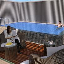 4BR Penthouse (Pool Deck)