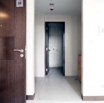 Hallway going to kitchen area