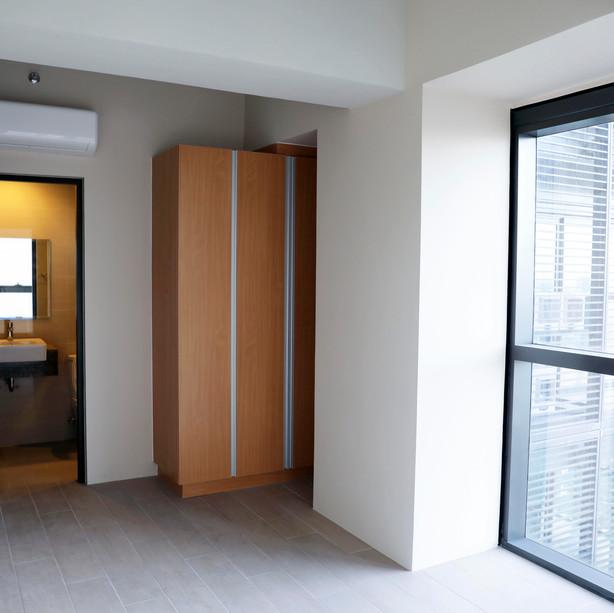 Built-in closet