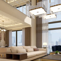 3BR (High ceiling living area)
